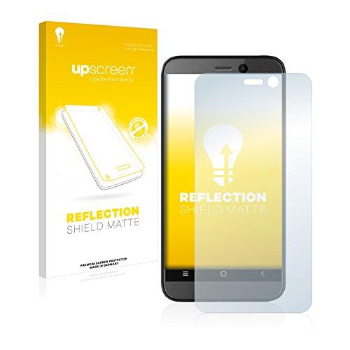 upscreen Entspiegelungs-Schutzfolie kompatibel mit Archos 40 Power – Anti-Reflex Bildschirmschutz-Folie Matt