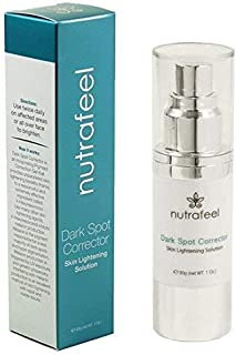 Dark Spot Corrector by Nutrafeel   HYALURONIC Acid   JOJOBA Oil   Vitamin B3   A SAFE and Powerful Skin Brightening & Pigment Corrector Serum   More Effective than Harmful Hydroquinone!
