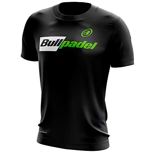 Bullpadel Camiseta ODP (M, Negro)