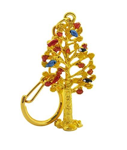 juanxian Feng Shui Wealth Tree Amulet Sleutelhanger W Mxsabrina Rode String Armband W2377