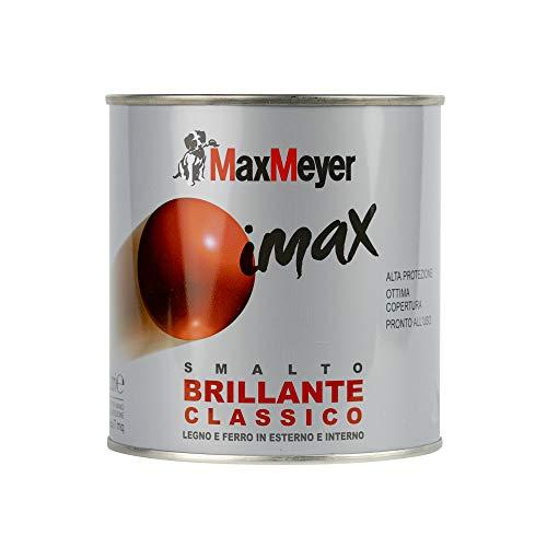 Maxmeyer 162575C400014 Smalto a solvente finitura brillante Testa di Moro 0,5 L, 0.5L