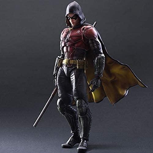 Arkham Knight Robin Anime Figura de acción Coleccionable Modelo Estatua Toys Figuras de PVC Adornos de escritorio