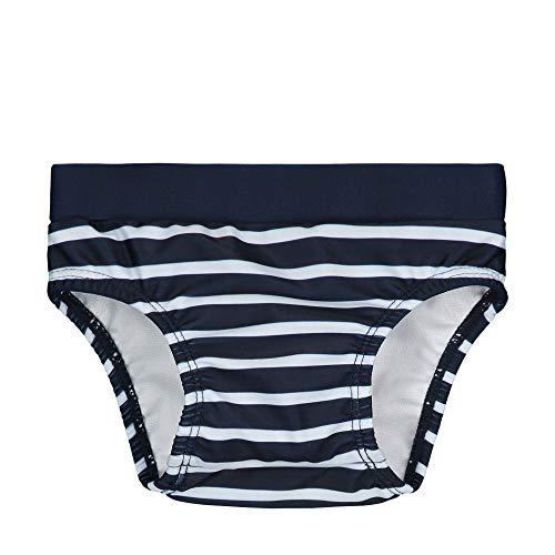 Steiff Baby-Jungen Schwimmwindel, Blau (Black Iris 3032), 80 (Herstellergröße: 080)