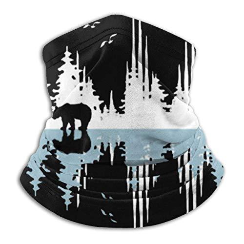 KOYA94 The Sound Of Nature - Music Sound Wave Calentador de cuello de invierno para hombres Mujeres Ski Neck Gaiter Cover Mascarilla
