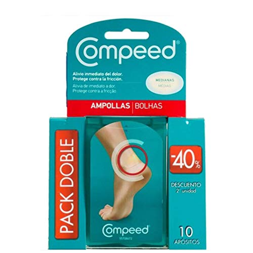 COMPEED Apósitos Ampollas Pack Mediano 10 uds