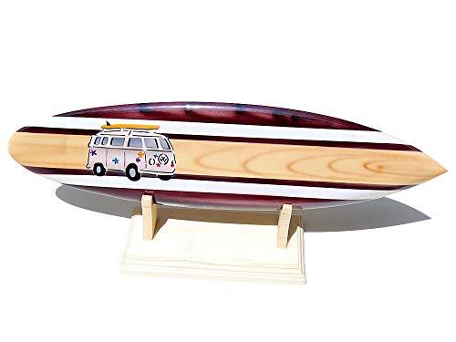 Seestern Sportswear Deko Holz Surfboard 30 cm lang Airbrush Design Surfing Surfen Wellenreiten Surf /1658