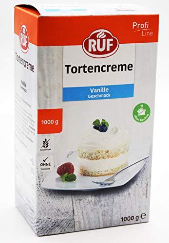 RUF Lebensmittelwerk Tortencreme Vanille, 1er Pack (1 x 1000 g)