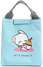 Fashion and High Quality New Cartoon Pattern Insulation Student Storage Bag(Blue)