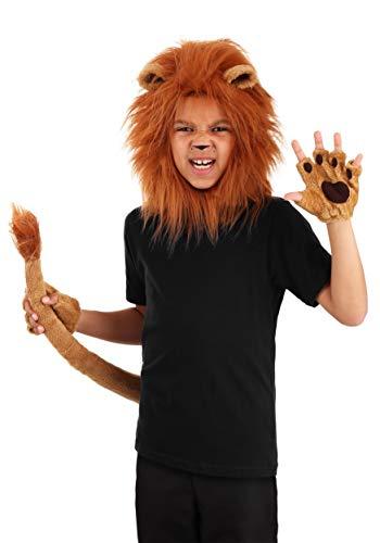 Deluxe Kid's Lion Costume Kit Lion Mane, Tail,...