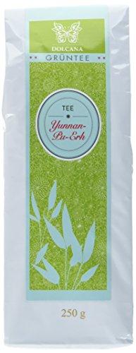Dolcana Grüntee Original Yunnan-Pu-Erh-Tee, 1er Pack (1 x 250 g Packung)