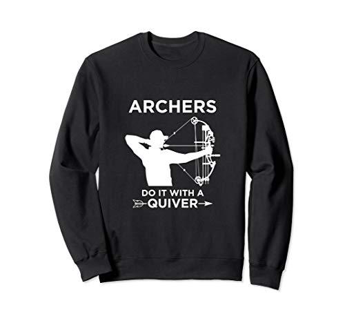 Bogenschützen Köcher Bogenschießen Bogen Jagd Geschenk Sweatshirt