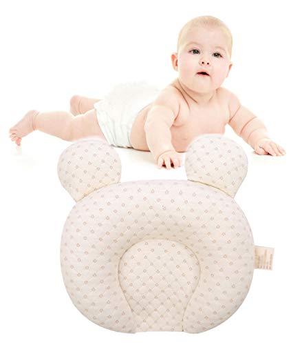 ABYYLH Kopfkissen,Baby Latex Orthopädisches Nackenstützkissen, Ergonomisches Nackenkissen Visko-Schlafkissen