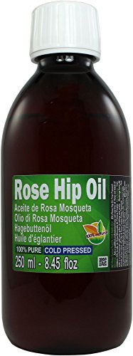 Aceite Rosa Mosqueta 250ml (un cuarto litro) 100% Puro Origen Chile - Primera Prensada en...