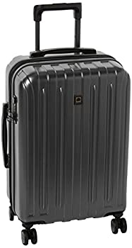 DELSEY Paris Titanium Hardside Expandable Luggage with Spinner Wheels Graphite Carry-On 21 Inch