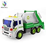Tread Mall™ Friction Powered Vehicles Metal Recycling Garbage Waste Management Big Truck Toy with Trash Bin for Kids