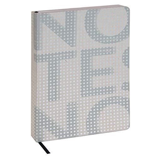 Artebene Notizbuch Notes Grau DIN A5, notizbuch geschenk