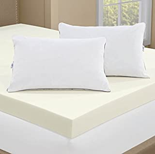 Serta 4-inch Memory Foam Mattress Topper with 2 Memory Foam Pillows -- FULL SIZE