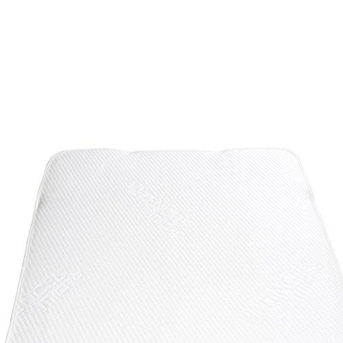 Bebella vital 901509 Tencel Surmatelas imperméable Multicolore 90 x 200 cm