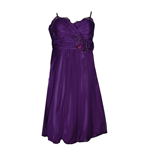 JuJu & Christine - Abendkleid Festkleid Kleid, lila, Größe 34