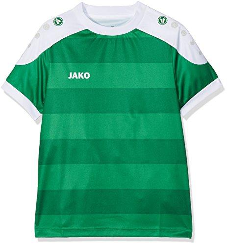 JAKO Kinder Fußballtrikots KA Trikot Celtic, Sportgrün/Weiß, 140