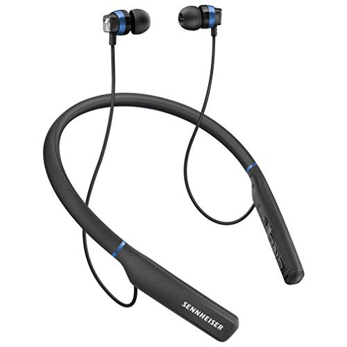 Sennheiser CX 7.00BT Wireless Bluetooth in Ear Neckband Headphone with Mic (Black)