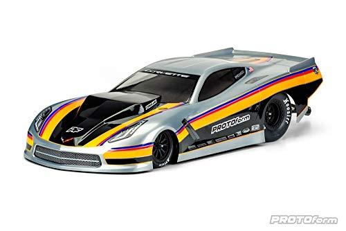 Pro-line Racing 1/10 Chevrolet Corvette C7 Pro-Mod Clear Body: Slash 2WD, PRM157140