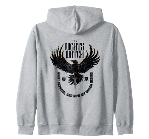 Game of Thrones The Night's Watch Crow Sudadera con Capucha