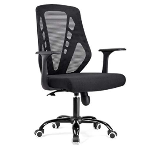 Qi Peng-//Chaise pivotante-Chaise d'ordinateur Accueil Nouveau Mode Chaise de Bureau arrière de Bureau Président du Personnel Chaise en résille Respirante Siège de dortoir étudiant Chaise pivotante