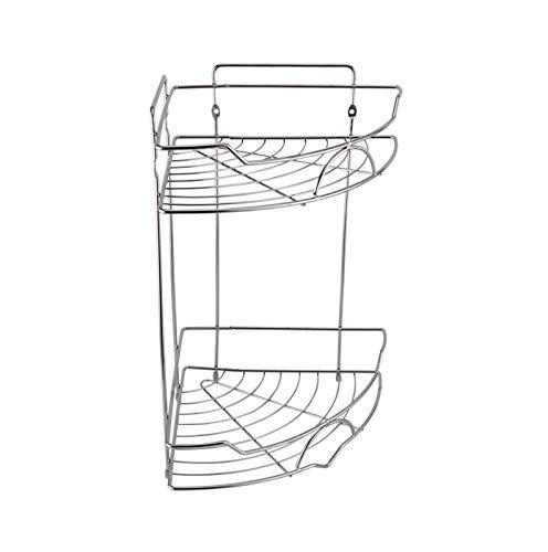 Cocina de acero inoxidable Cuarto de baño Trípode Ventilador Bastidor de almacenamiento Canasta Cuarto de baño Pendiente de baño A