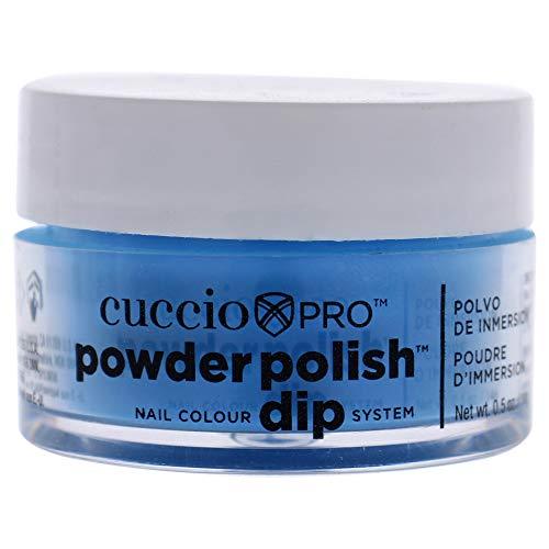 Cuccio Neon Blauw Nail Color Dip System Duiken poeder