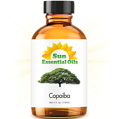 Copaiba Essential Oil (Huge 4oz Bottle) Bulk Copaiba Oil - 4 Ounce