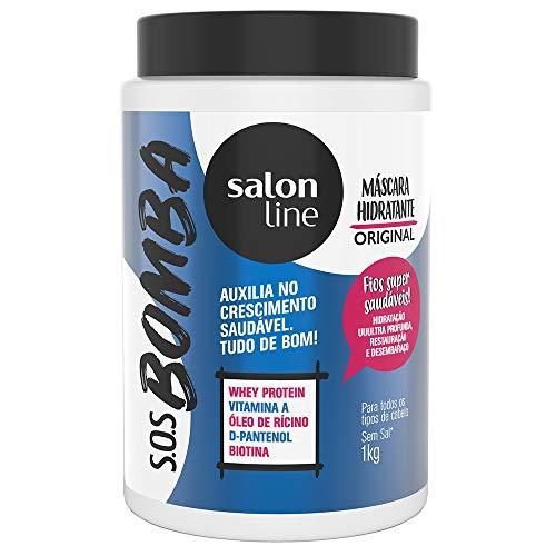 Creme Tratamento 1 kg SOS Bomba Unit, Salon Line, Branco