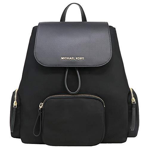 Michael Kors Abbey Cargo Backpack (BLACK)