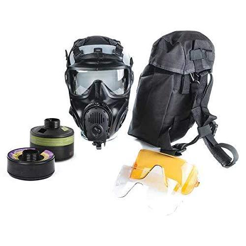 Full Face Respirator Kit, Butyl Rubber, M