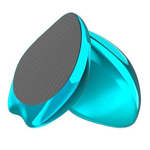 Lima Pies De Vidrio Nano AnjoCare 2en1, Removedor de Callos y Piel MuertaDura, Profesional Raspador Portátil para Piel Pies Agrietados, Pedicura erramienta de belleza para el cuidado de los pies(Azul)