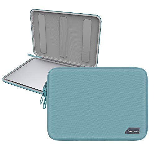 Smatree Hardshell Laptop Sleeve Compatible with 13.3inch MacBook Air/MacBook Pro 2020/2019/2018/2017 /12.9inch iPad Pro/ 12inch MacBook/ 11.6inch MacBook Air/Tablet Sleeve Case (Green)