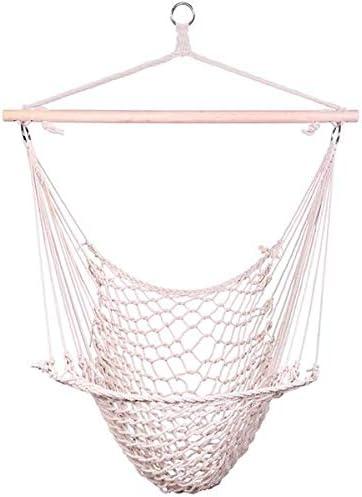 JJG 100% quality warranty Hammock Net Chair Hanging Seat Rope Store Air Swing Sky