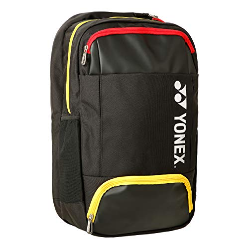 YONEX Backpack s Zaino Nero - Giallo