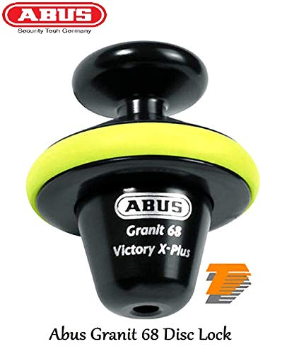 ABUS GRANIT 68 VICTORY X-PLUX DISC LOCK Motorbike Thatcham Cat 3 Approved...