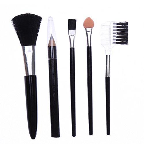 DaoRier 5 Stück Lippenpinsel Augen Make-up Pinsel Bürsten Kosmetikpinsel Schminkpinsel...