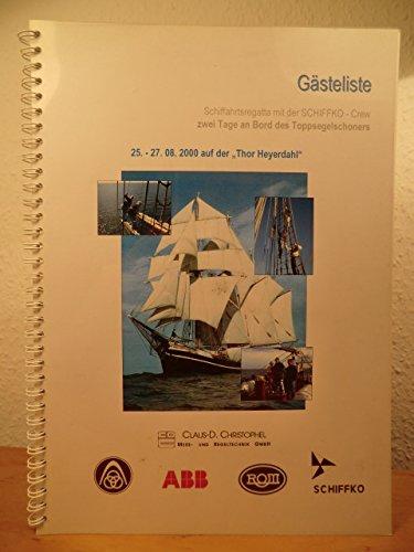 Schiffahrtsregatta auf der Thor Heyerdahl vom 28. - 30. August 1998. So war es vor 2 Jahren...