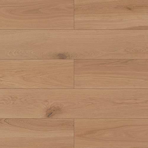 Dotfloor Vinyl Planks Flooring Tiles 30.88 sq.ft SPC Floor Plank Interlocking Floating Planks Glue Free Wood Grain with IXPE Underlay 4.5mm for Home Office Bathroom(Flatwood)