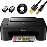 Cano Wireless Pixma TS3120 /TS3110 Inkjet All-in-one Printer with Scanner, Copier, Mobile Printing, Airprint and Google Cloud + NeeGo Printer Cable