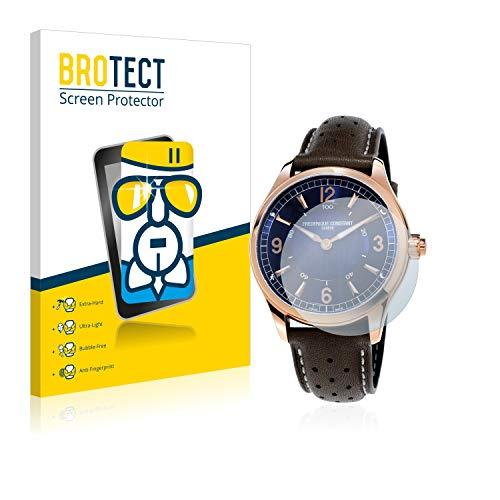 BROTECT Panzerglas Schutzfolie kompatibel mit Frédérique Constant Horological Smartwatch - AirGlass, extrem Kratzfest, Anti-Fingerprint