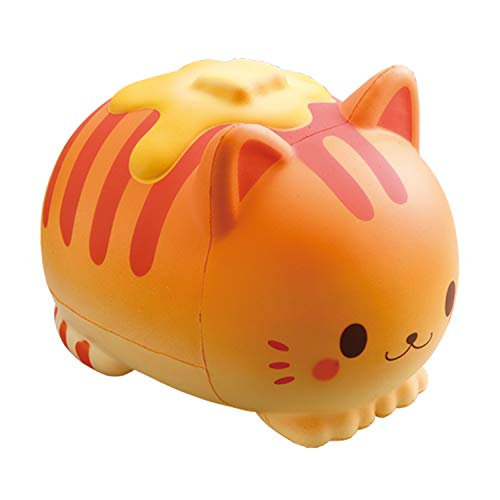 iBloom Nyan Pancake Cat Cute Slow Rising Jumbo Squishy Toy, Pillow (Butter, Bread Scented, 5.9 Inch) for Party Favors