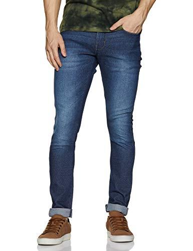 Wrangler Men's Skinny Fit Jeans (W38443W22SMU_Jsw-Dark Stone_36W x 33L)