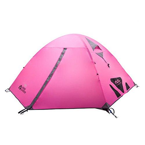 MEI XU Auvent Tentes automatiques de camping de 2-3 personnes @ (taille : HB)