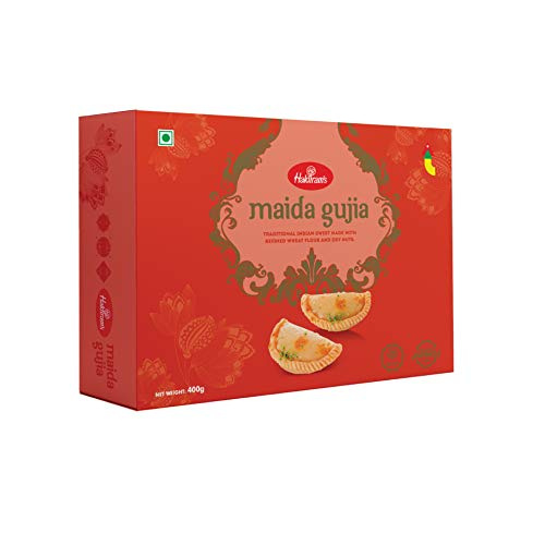 Haldiram's Maida Gujia 400 g X 1 Box