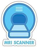 SkyBug MRI Scanner Bumper Sticker Vinyl Art Decal for Car Truck Van Wall Window Vinilo Adesivi (20 X 24 cm)