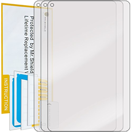 Mr.Shield for RCA 7 Voyager II Premium Clear Screen Protector [3-Pack] with Lifetime Replacement